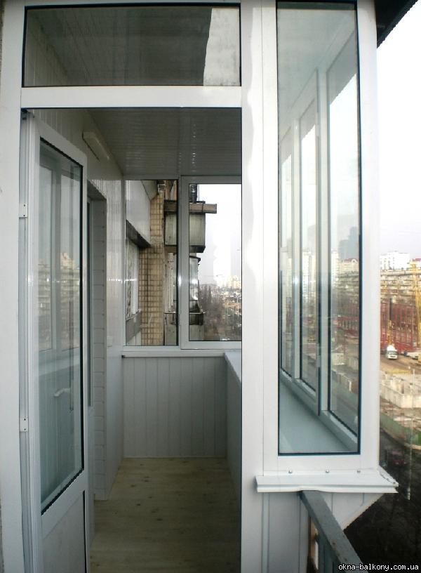 Разделение лоджии от балкона. - дизайнерские решения - катал.
