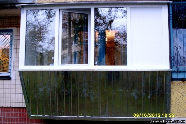 Остекление под ключ - 09 - балконы и лоджии (под ключ) - бал.