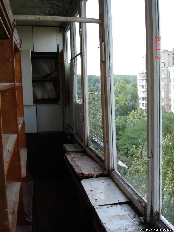 Пластик шовный - 16 - обшивка балкона - балконы - окна и бал.